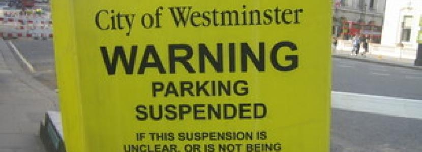 Parking Suspended