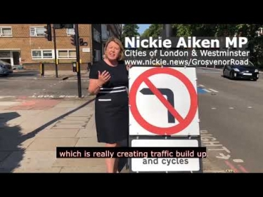 Embedded thumbnail for MP urges Mayor of London to listen to local people on the impact of road layout changes